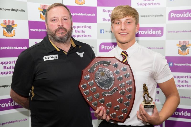 Vytas Vasnys U16's 2016 Player of the Year