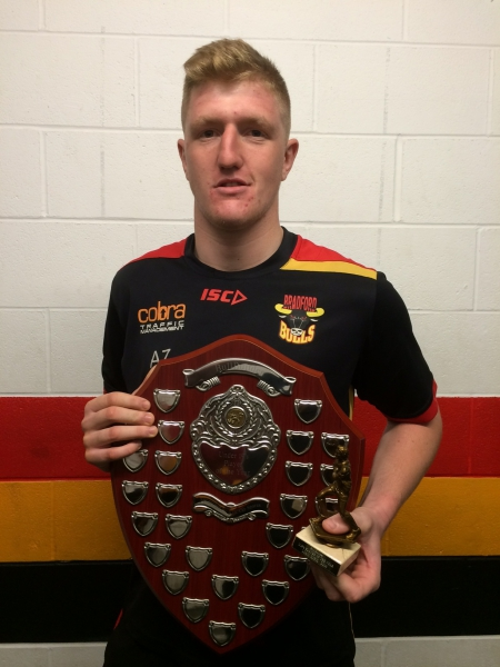 Liam Kirk U19's 2016 Player of the Year